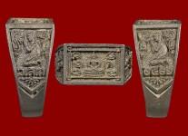 แหวนหน้าพระพุทธเนื้อเงินปี2522(สภาพ100%ไซด์ 60-61)หลวงปู่ดู่วัดสะแก
