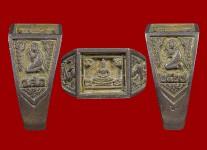 แหวนหน้าพระพุทธเนื้อเงินหน้าใหญ่จอลึก ปี 2527 สภาพ 100%(ไซด์ 60)หลวงปู่ดู่วัดสะแก