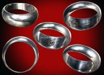 แหวนปลอกมีดเนื้อเงินปี2532 (ไซด์ 63) หลวงปู่ดู่วัดสะแก