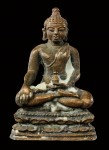 พระชัยวัฒน์หล่อโบราณเนื้อโลหะผสมปี2522(สวย) หลวงปู่ดู่วัดสะแก