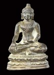 1 ใน 216 องค์ พระชัยวัฒน์เนื้อเงินปี2522 (คัดสวย) หลวงปู่ดู่วัดสะแก