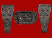 แหวนหน้าพระพุทธเนื้อเงินหน้าใหญ่จอลึก ปี 2527 สภาพ 100%(ไซด์ 63)หลวงปู่ดู่วัดสะแก