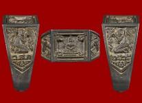 แหวนหน้าพระพุทธเนื้อเงิน ปี 2525 (สภาพ 100% ไซด์ 57 )หลวงปู่ดู่วัดสะแก