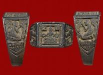 แหวนหน้าพระพุทธเนื้อเงินหน้าเล็กปี2525 (สภาพ 95%ไซด์ 56 )หลวงปู่ดู่วัดสะแก