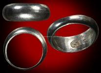 แหวนปลอกมีดเนื้อเงินปี2532 ( ไซด์ 60) หลวงปู่ดู่วัดสะแก