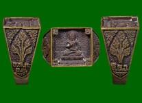 แหวนพระพุทธประทานพรหน้าใหญ่ ปี 2531  สภาพ 100%(ไซด์ 64)หลวงปู่ดู่วัดสะแก
