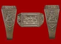 แหวนหน้าพระพุทธเนื้อเงินปี2532 โค้ดพ.ศ.(สภาพ 100% ขนาด 65) หลวงปู่ดู่วัดสะแก