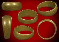 แหวนปลอกมีดเนื้อโลหะผสมรุ่นสร้างที่ดินปี2529 (ไซด์ 58) หลวงปู่ดู่วัดสะแก