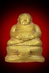 พระบูชาสังกัจจายน์ หลังจีวรดอก ทาทอง 5 นิ้ว หลวงปู่ดู่วัดสะแก