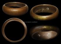 แหวนปลอกมีดเนื้อโลหะผสมรุ่นแรกปี2523(สภาพ 100%ไซด์ 66)หลวงปู่ดู่วัดสะแก