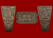 แหวนหน้าพระพุทธเนื้อโลหะผสมปี2522 (สภาพ 100% ขนาด 56) หลวงปู่ดู่วัดสะแก