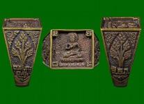 แหวนพระพุทธประทานพรหน้าใหญ่ ปี 2531  สภาพ 100%(ไซด์ 61)หลวงปู่ดู่วัดสะแก