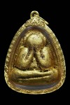 พระปิดตารุ่นแรกเนื้อผงพุทธคุณทาทองเดิม ปี๒๕๔๒