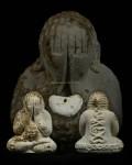 พระปิดตารวยทันใจ เนื้อผงงาช้างตอก๒โค๊ต ปี๒๕๔๓