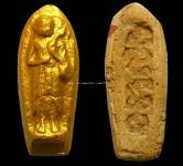 พระสิวลี  อาจารย์ชุมไชยคีรี  เนื้อเหลืองหนาๆปิดทอง