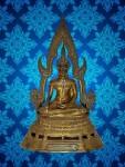 พระบูชาพระพุทธชินราช วัดประสาทบุญญาวาส(สามเสน) หน้าตัก 3 นิ้ว สวยๆ