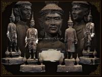 รูปหล่อบูชาสมเด็จพระนารายณ์มหาราช งานแผ่นดินสมเด็จพระนารายณ์ ปี2534
