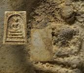 พระสมเด็จหลวงปู่หิน วัดระฆังโฆสิตาราม ปี2484  พิมพ์ใหญ่เกศทะลุซุ้ม นิยม