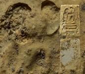 พระสมเด็จหลวงปู่หิน วัดระฆังโฆสิตาราม ปี2484 พิมพ์อกครุฑเศียรบาตร
