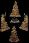พระบูชาสมัยรัตนโกสินทร์ พิมพ์พระภิกษุณี ขนาดหน้าตัก 3 นิ้ว