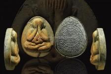 พระปิดตาจัมโบ้2 เนื้อใบลาน แช่นำ้มนต์ หนาสวย หลวงปู่โต๊ะ องค์ที่2